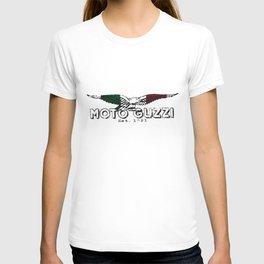 Moto Guzzi Italian Vintage Classic Biker Motorcycle Retro Putty Biker t-shirts T-shirt