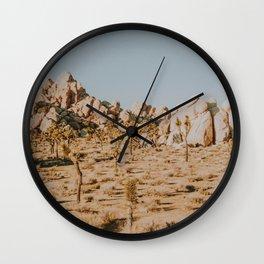Joshua Tree XXX / California Desert Wall Clock