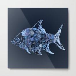 Titfish Metal Print