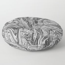 Grey Grass Floor Pillow