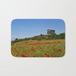 Penshaw Monument Poppys Bath Mat