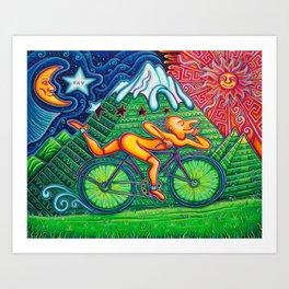 Bicycle Day Art Print