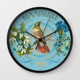 Magic Birds - Hummingbird Wall Clock