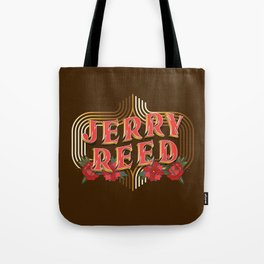"""Jerry Reed """"The Snowman"""" Tote Bag"""