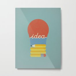 I've Got An Idea Metal Print