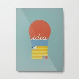 I've Got An Idea Metal Print
