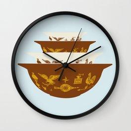 Early American Cinderella Pyrex Wall Clock