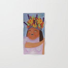 Fruit Basket Woman Hand & Bath Towel