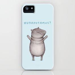 Hugapotamus? iPhone Case