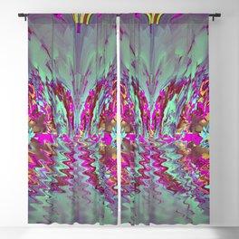Decorative wave ... Blackout Curtain