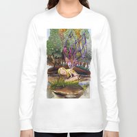 fairy Long Sleeve T-shirts featuring Fairy by Jose Luis Ocana