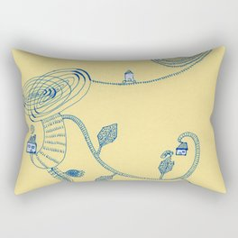 sptial garen Rectangular Pillow