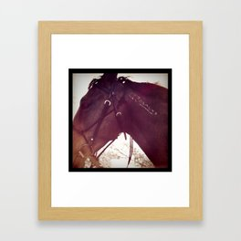 my name is Framed Art Print