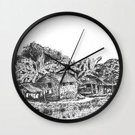 BAHAY KUBO 4 Wall Clock