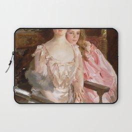 John Singer Sargent - Mrs. Fiske Warren (Gretchen Osgood) and Her Daughter Rachel Laptop Sleeve
