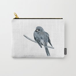 Black-Eyed Junco by Teresa Thompson Carry-All Pouch