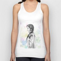 pride and prejudice Tank Tops featuring Pride and Prejudice by Wadart