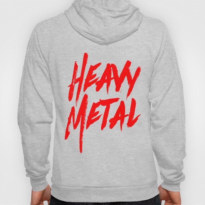 Woke Up To The Sweet Sound Of HEAVY METAL Hoody