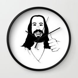 Jesus Ain't Mad At Ya Wall Clock