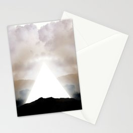 Abstract Landscape 02: New Beginnings Stationery Cards
