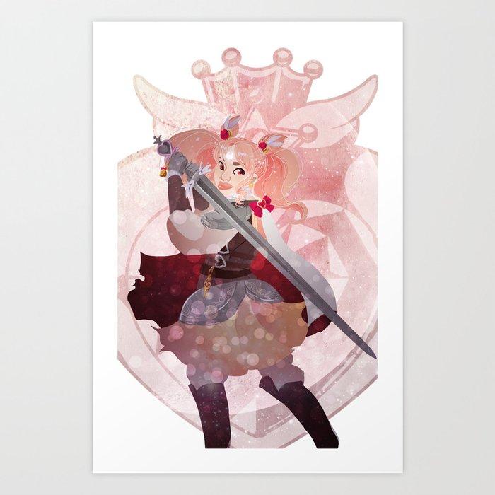 pretty soldier sailor chibimoon Art Print