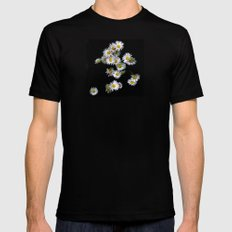 into the light Mens Fitted Tee SMALL Black