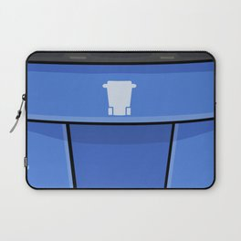 Giant Recycle Bin Laptop Sleeve