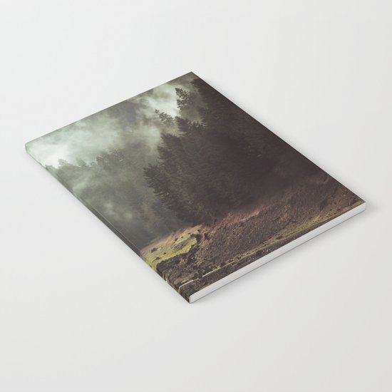 Foggy Forest Creek Notebook