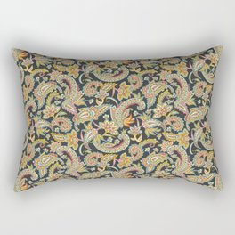 Nomad Paisley - Charcoal Rectangular Pillow