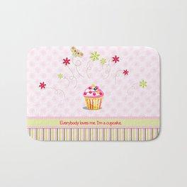 Cupcake Love Bath Mat