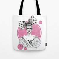 fancy Tote Bags featuring Fancy by Tania Santos