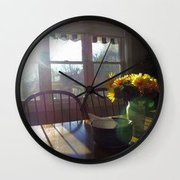 Spring Used to Be... Wall Clock