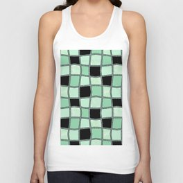 Geometric pattern. 5 Unisex Tank Top