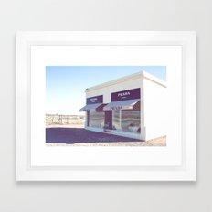 PradaMarfa Framed Art Print