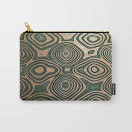 Metall texture, Damascus Carry-All Pouch