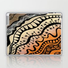 From copper to bronze tangled Laptop & iPad Skin