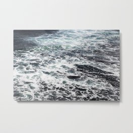 Getting lost in Ocean hues Metal Print
