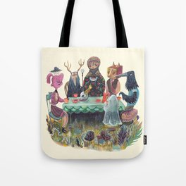 The Art of ruining conversation at dinner parties Tote Bag