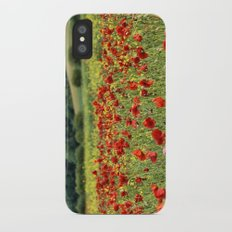 Poppies, Poppies, Poppies Slim Case iPhone X