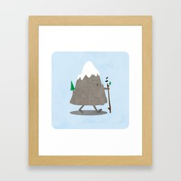 Lil' Hiker Framed Art Print