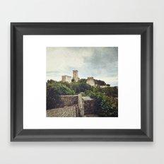 Erice Castle Framed Art Print