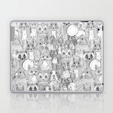 crazy cross stitch critters Laptop & iPad Skin