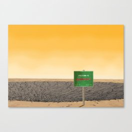 Welcome to Sunnydale Canvas Print