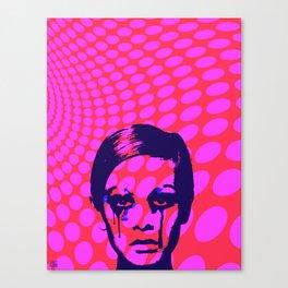 Iconic Twiggy Canvas Print