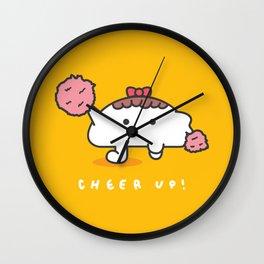 Cheer Up! Wall Clock