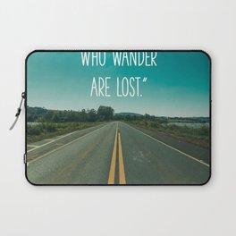 Travel quote Laptop Sleeve