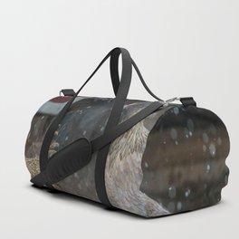 Winter Birds Duffle Bag