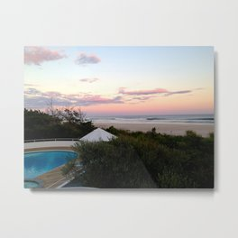 Hamptons View Metal Print