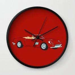 Ferrari 250 GT Califonia Spyder Wall Clock