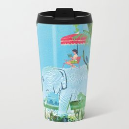 Summer Reading Metal Travel Mug